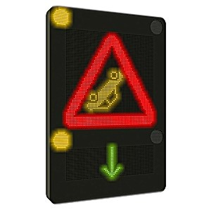 4VMS traffic sign